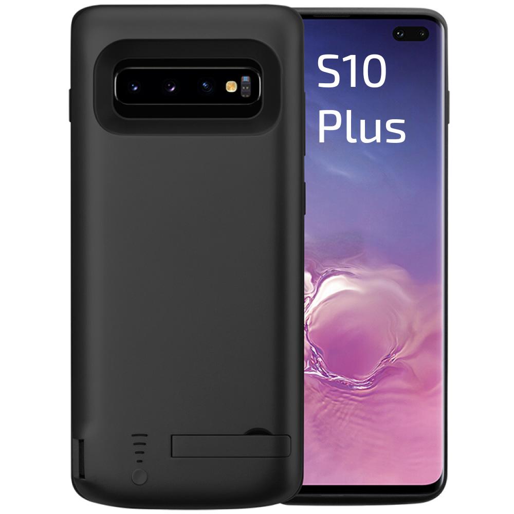 Чехол аккумулятор для Samsung S10 Plus black 6000 mAh iBattery