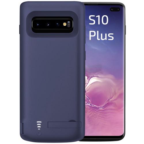 Чехол аккумулятор для Samsung S10 Plus blue 6000 mAh iBattery