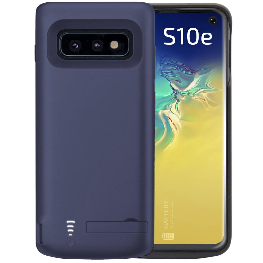 Чехол аккумулятор для Samsung S10e blue 5000 mAh iBattery