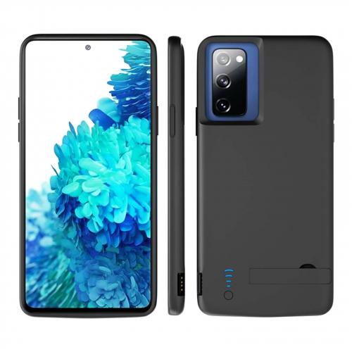 Чехол батарея для Samsung S20 FE black 5000 mAh iBattery