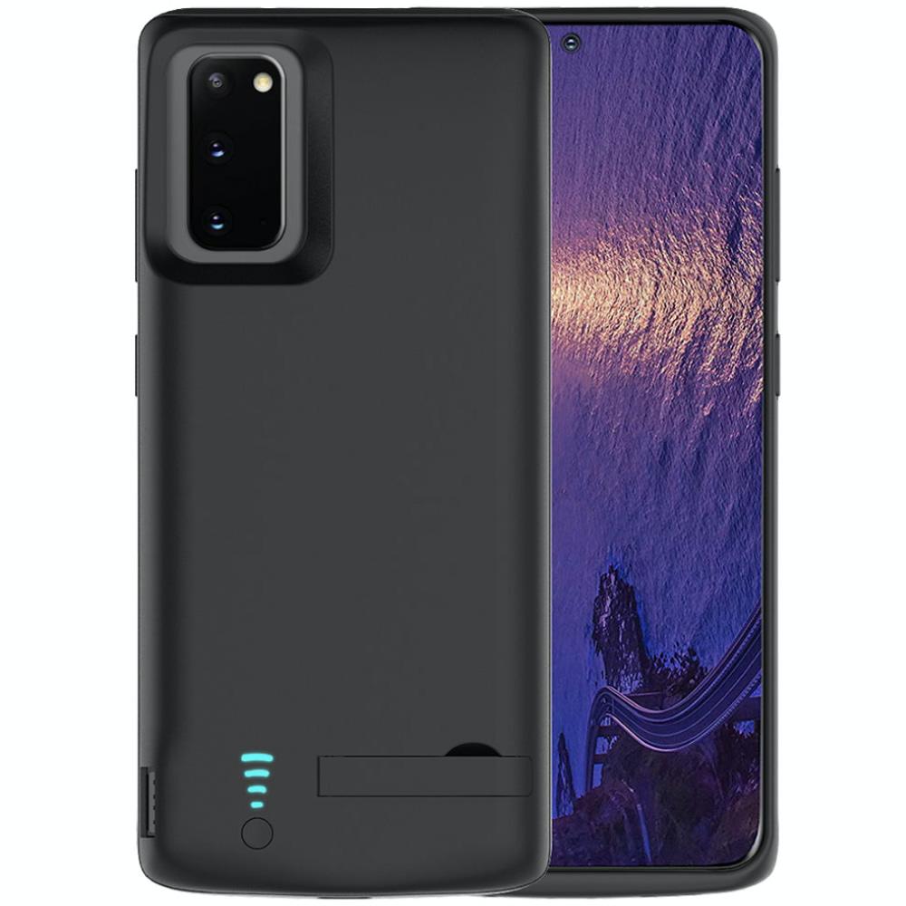 Чехол батарея для Samsung S20 black 5000 mAh iBattery