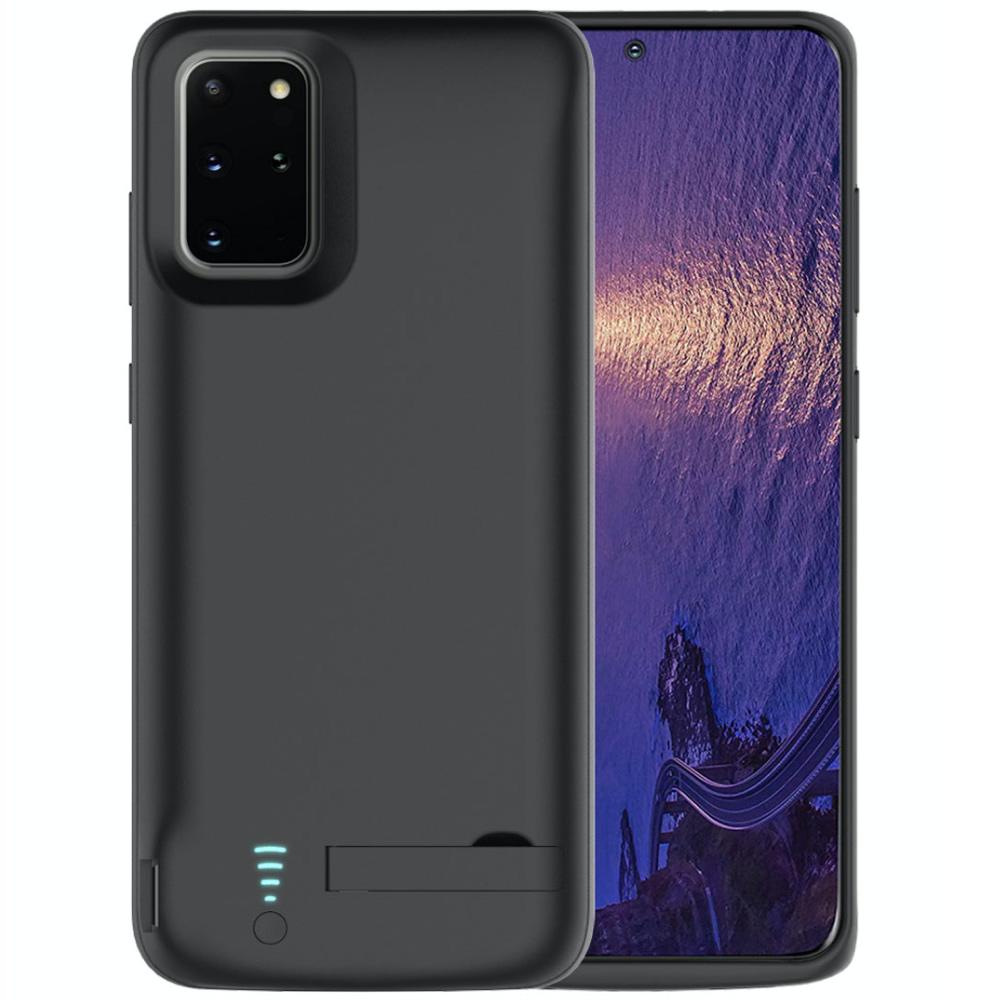 Чехол батарея для Samsung S20 Plus 6000 mAh black iBattery
