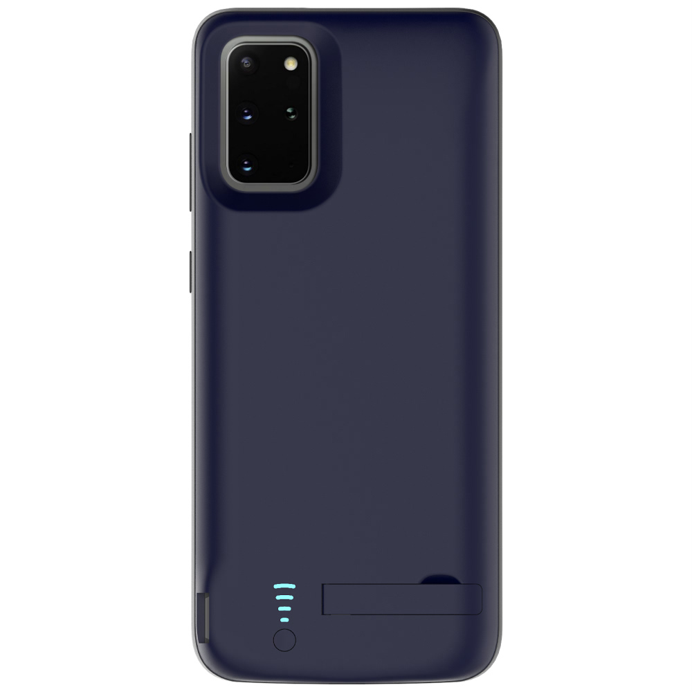 Чехол зарядка для Samsung S20 Plus blue 6000 mAh iBattery