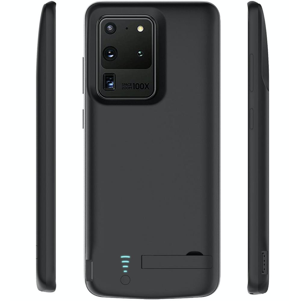 Чехол аккумулятор для Samsung S20 Ultra black 6000 mAh iBattery