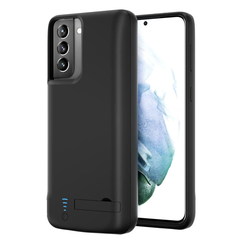 Чехол аккумулятор для Samsung S21 Plus black 5000 mAh iBattery