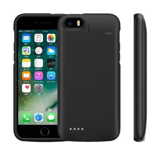 Чехол повербанк для iPhone 5/5s/SE 4000 mAh black iBattery