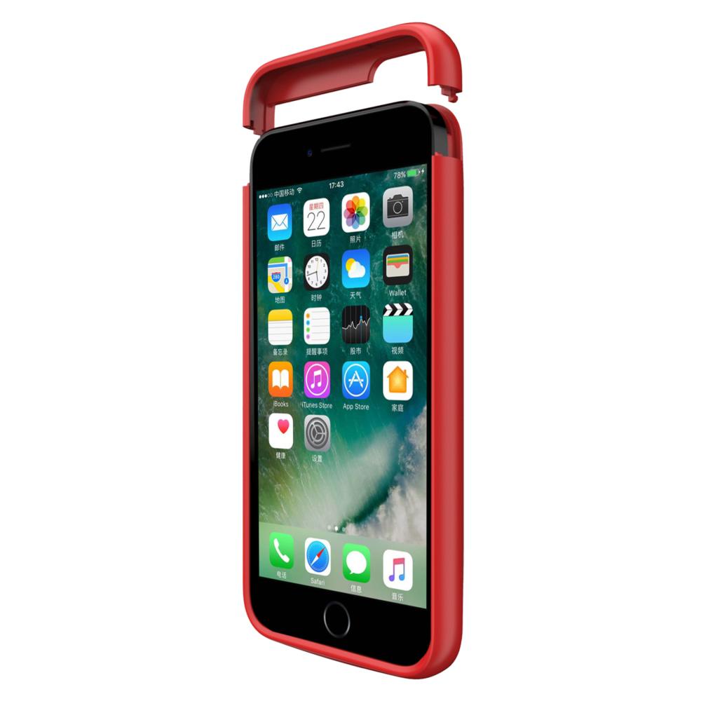 Чехол повербанк для iPhone 5/5s/SE 4000 mAh red iBattery