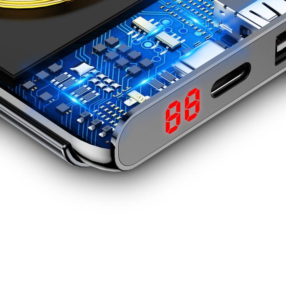 PowerBank Baseus Wireless Qi 10000mAh (WXHSD-D01) Black