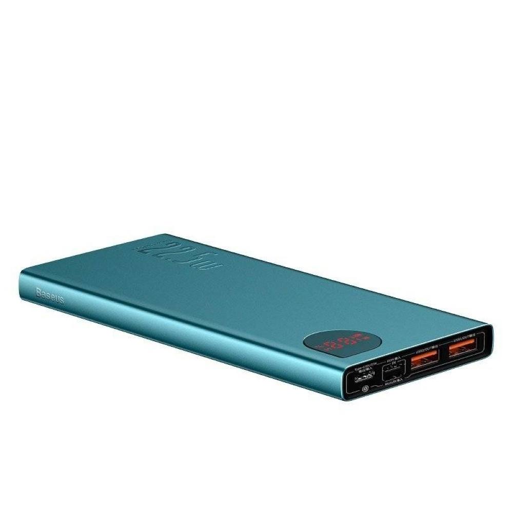 PowerBank Baseus Adaman Metal Digital Display 10000mAh (PPIMDA-B06) Green