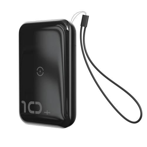 PowerBank Baseus Mini S Wireless Charger 10000mAh (PPXFF10W-01) Black