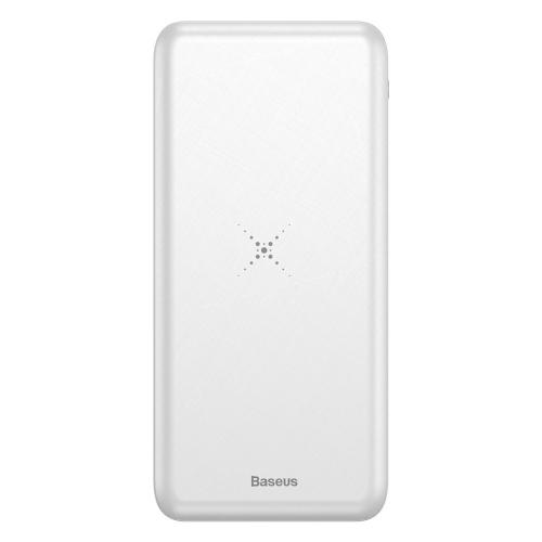 PowerBank Baseus M36 (Wireless Charger) 10000mAh (PPALL-M3602) White