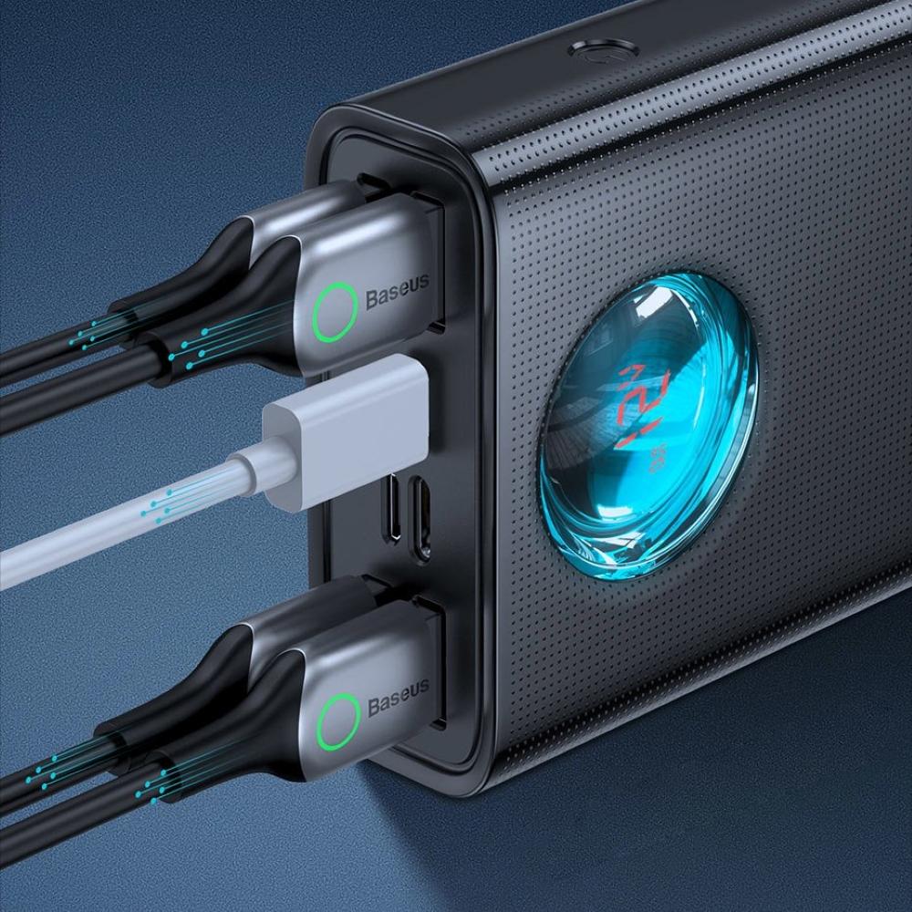 PowerBank Baseus Amblight QC Digital LCD 30000mAh (PPLG-01) Black