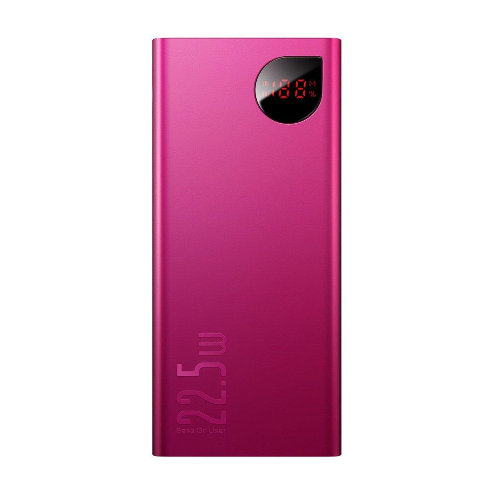 PowerBank Baseus Adaman Metal Digital Display 20000mAh (PPIMDA-A09) Red