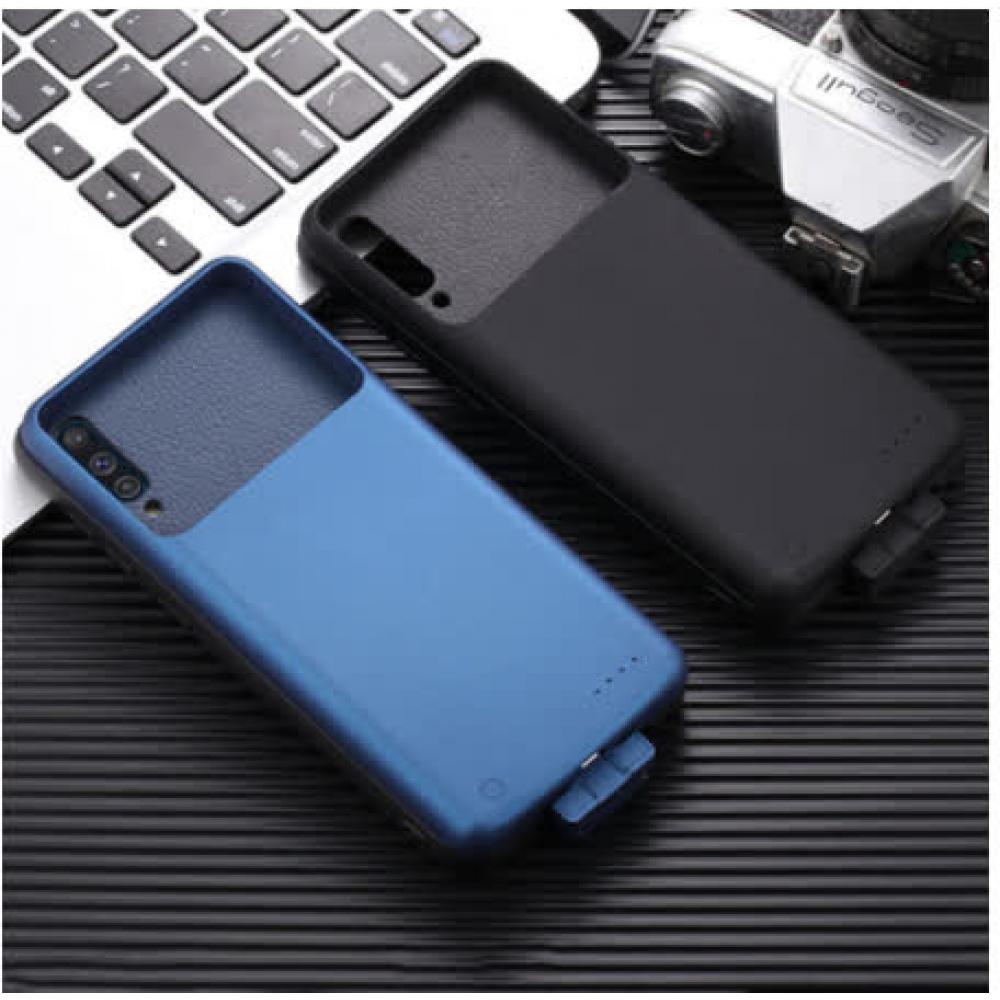 Чехол батарея для Samsung A50/A50s/A30s на 5000 mAh black