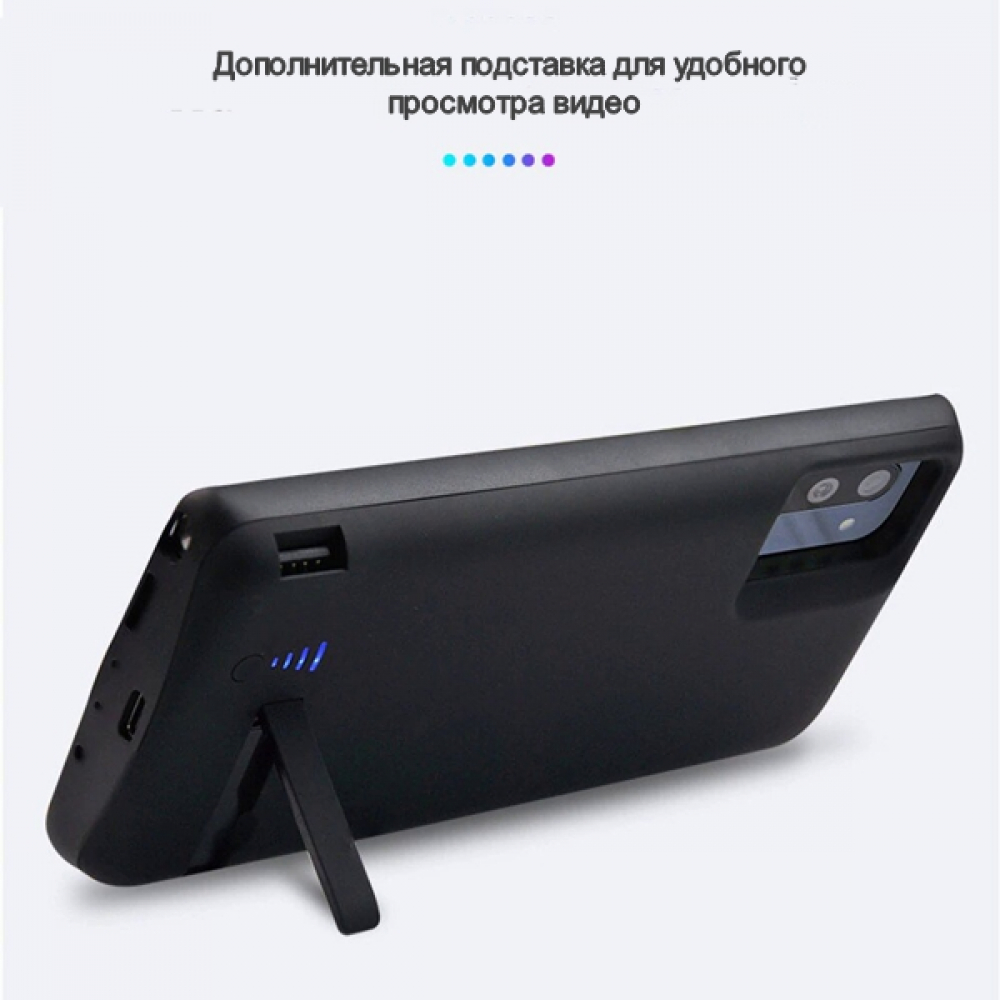 Battery case для Samsung Note 10 Plus 6000 mAh black iBattery