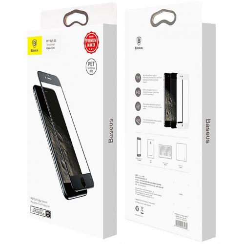 Защитное стекло Baseus (OR) Anti-Break Edge iPhone 7Plus/8Plus (SGAPIPH8P-PE01) Black (0.23mm)