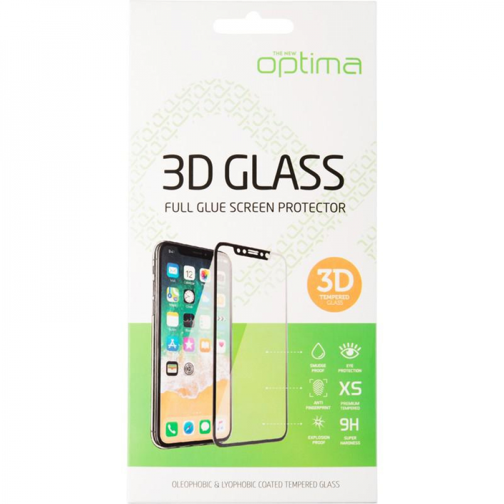 Защитное стекло Optima 3D for iPhone 6S Black