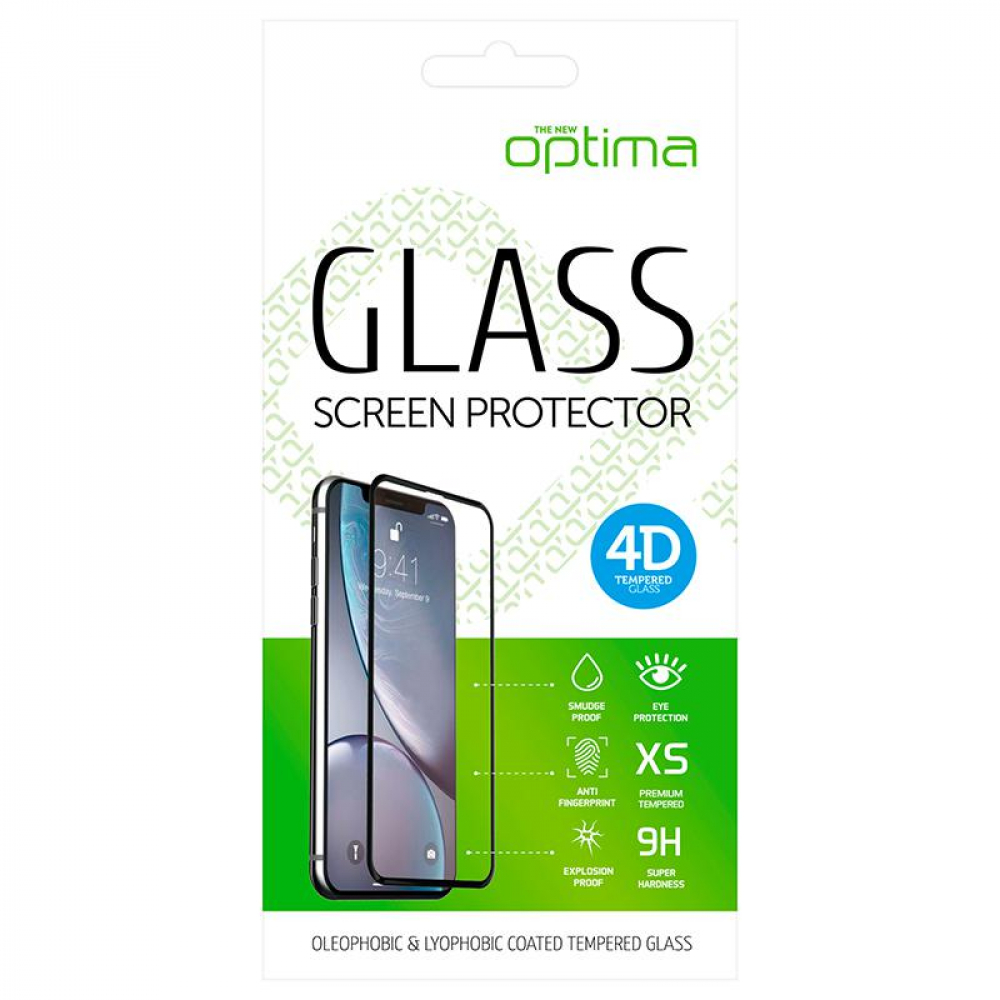 Защитное стекло Optima 4D for iPhone 7 White