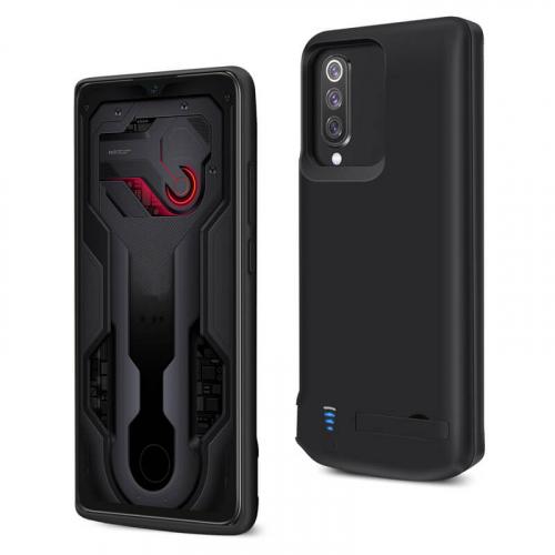 Чехол аккумулятор для Xiaomi Mi 9 black 5000mAh