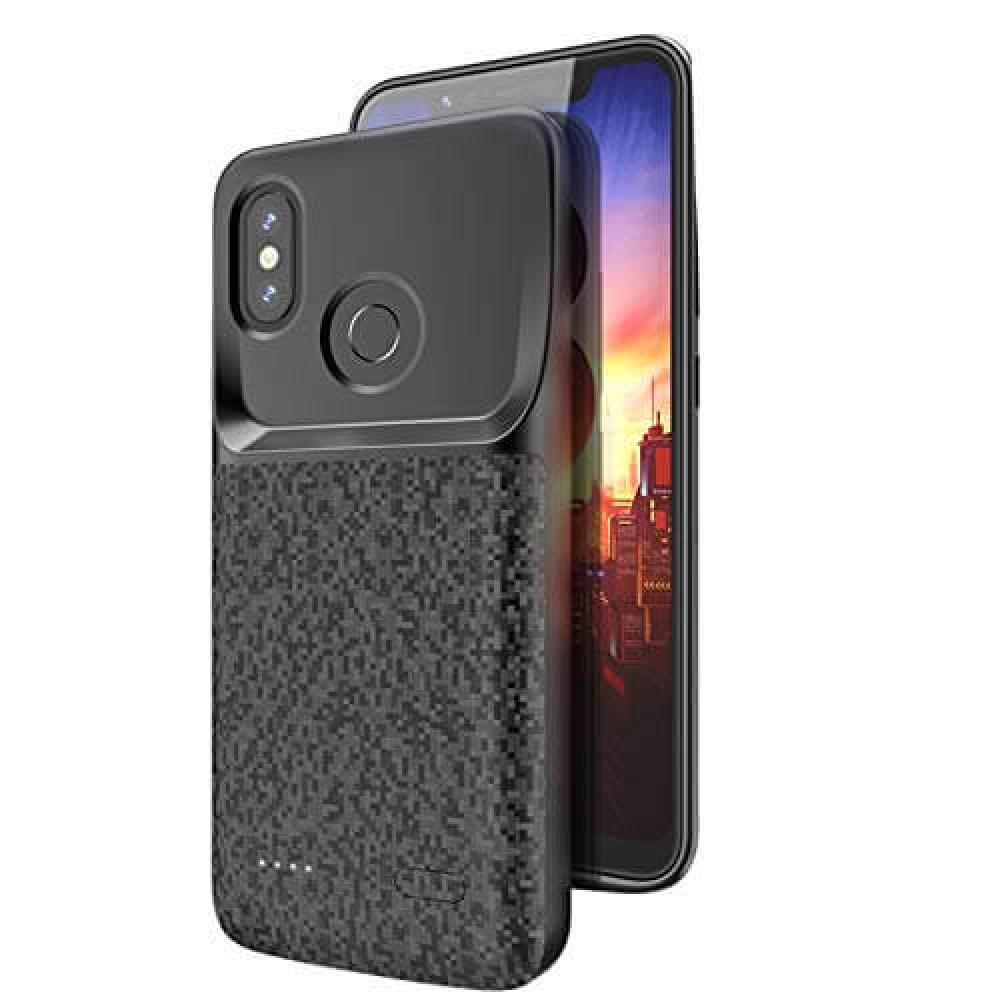 Чехол аккумулятор для Xiaomi Mi8 4700 mAh black iBattery