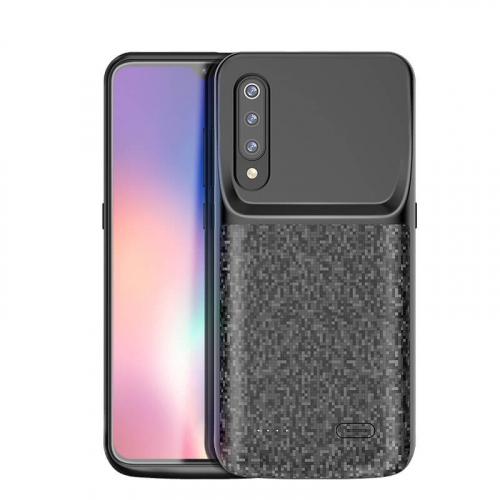 Чехол аккумулятор для Xiaomi Mi 9 4700 mAh black iBattery