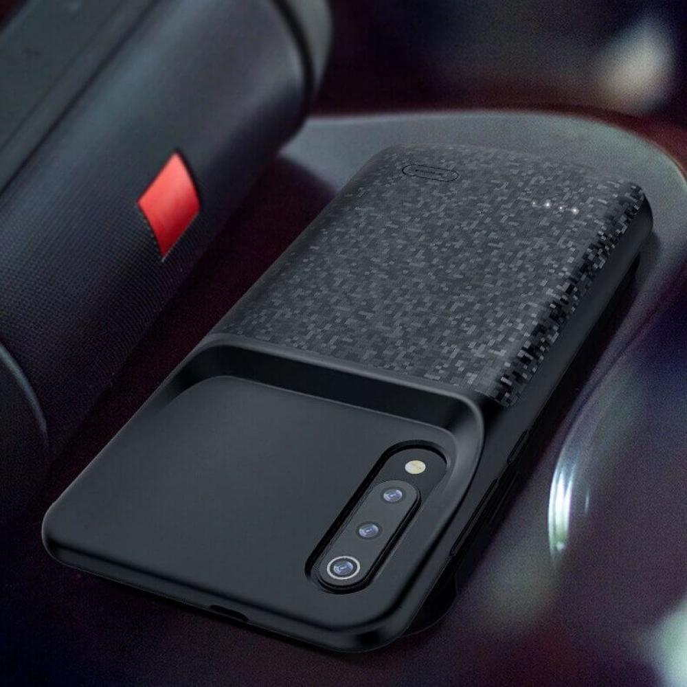 Чехол аккумулятор для Xiaomi Mi 9 SE  4700 mAh black iBattery